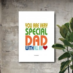 "Lámina ""You are very special..."" (ENG)"