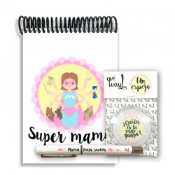 "Pack Bolso ""Super Mami"""