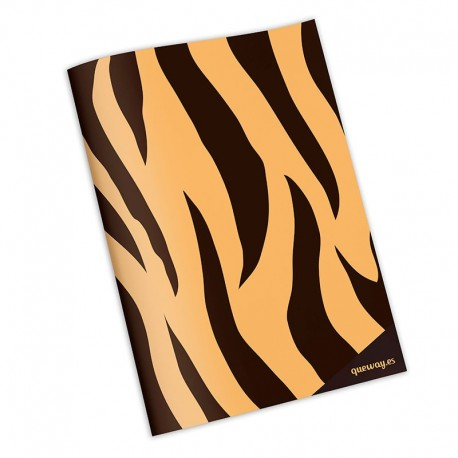 Cuaderno animal print tigre