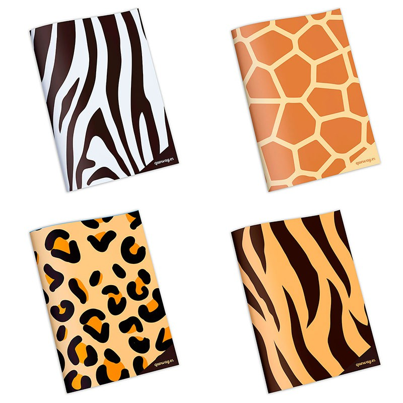Pack de cuadernos Animal Print